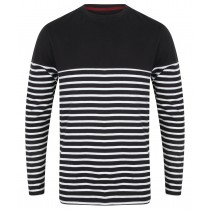 Front Row L/S Breton Striped Tee