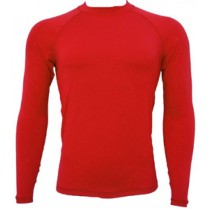 Wet Effect Long Sleeve Rash Vest