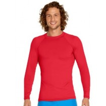 Wet Effect Rash Vest L/S