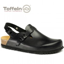 Toffeln Clog with Strap